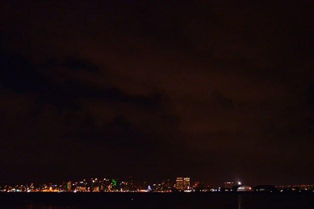 Night Time San Diego Skyline // Nattie on the Road