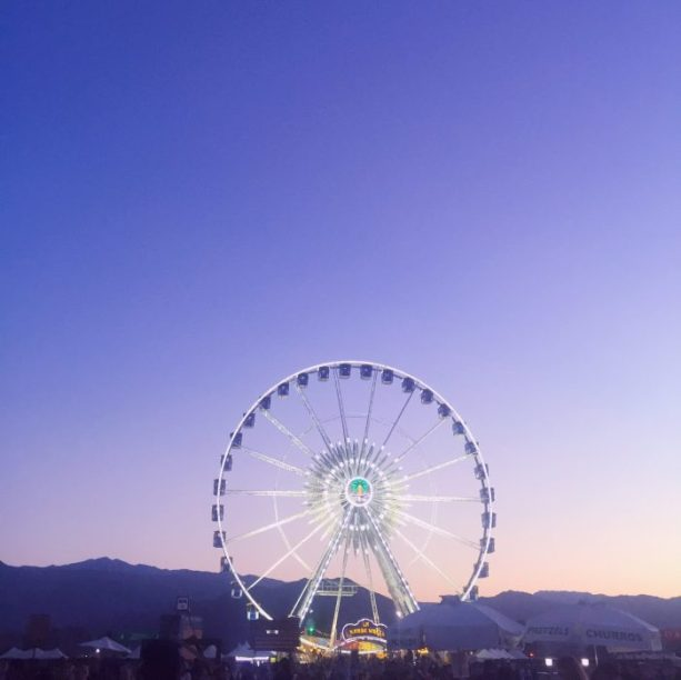 Coachella Ferris Wheel // Nattie on the Road