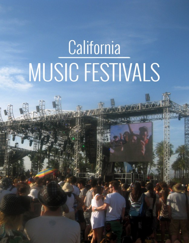 California Music Festival Guide // Nattie on the Road