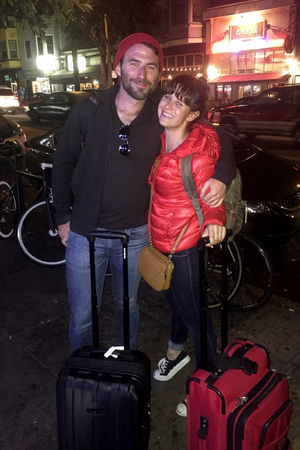 Nat & Rob & luggage // Nattie on the Road