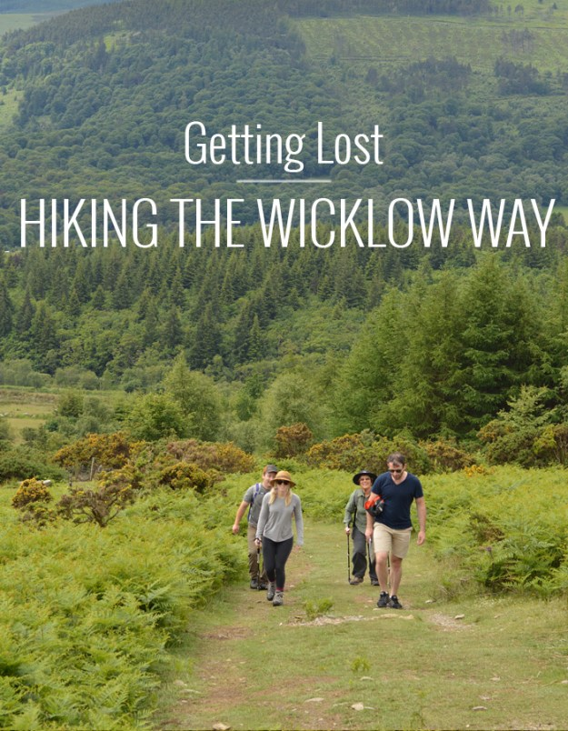Getting Lost: Hiking the Wicklow Way // Nattie on the Road