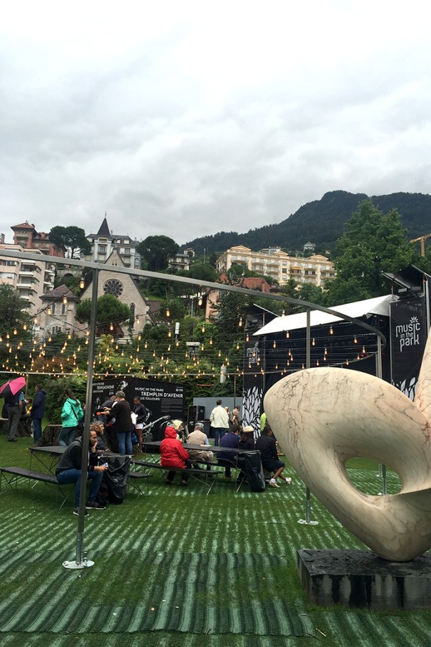 Music in the Park - Montreux Jazz Festival // Nattie on the Road