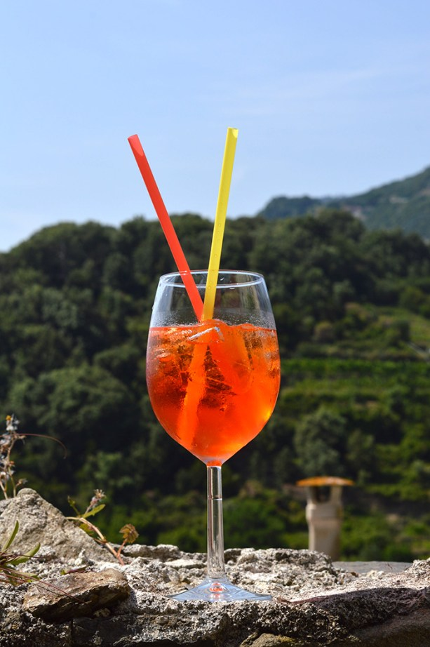 My favorite Italian drink, the Spritz // Nattie on the Road