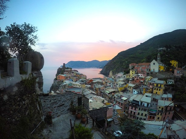 Vernazza, Cinque Terre // Nattie on the Road