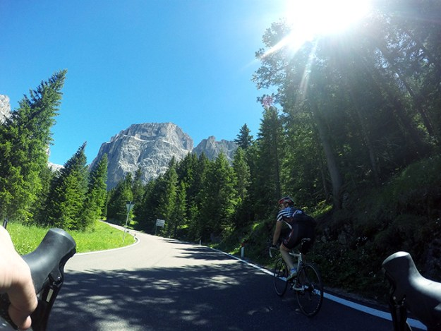 Bike spectacular and scenic roads in the Dolomites // Nattie on the Road