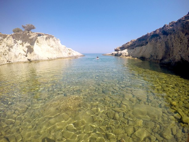 The best beaches of Milos Greece // Nattie on the Road