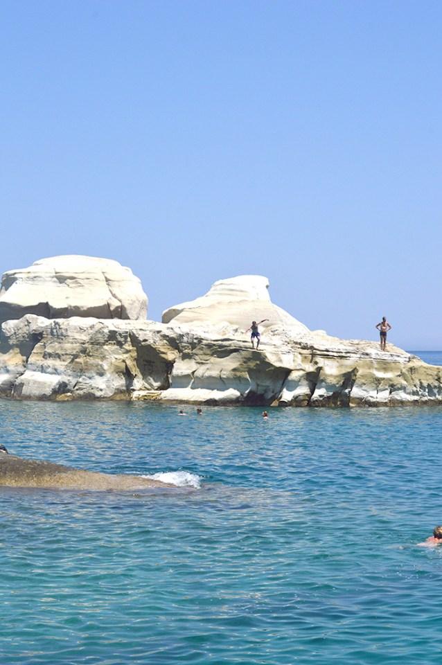 Sarakiniko Beach, Milos Greece // Nattie on the Road