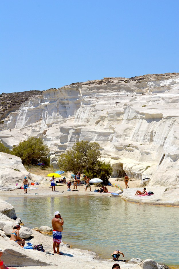 Sarakiniko Beach, Milos Greece // Nattie on the Road