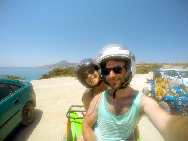 Take and ATV adventure in Milos // Nattie on the Road
