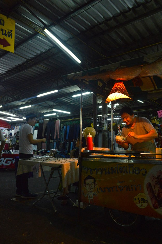Live on the edge, and eat the street food // Nattie on the Road
