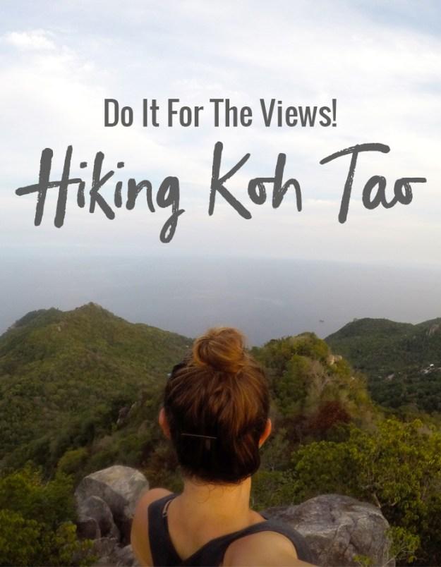 Hiking Koh Tao // Nattie on the Road
