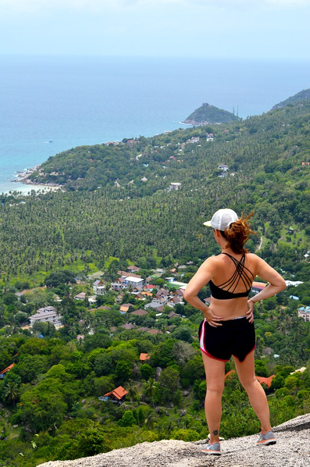 From the top of Fraggle Rock - Koh Tao // Nattie on the Road