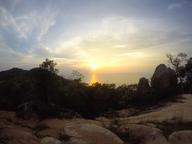 The better than OK View is a great place for sunset on Koh Tao