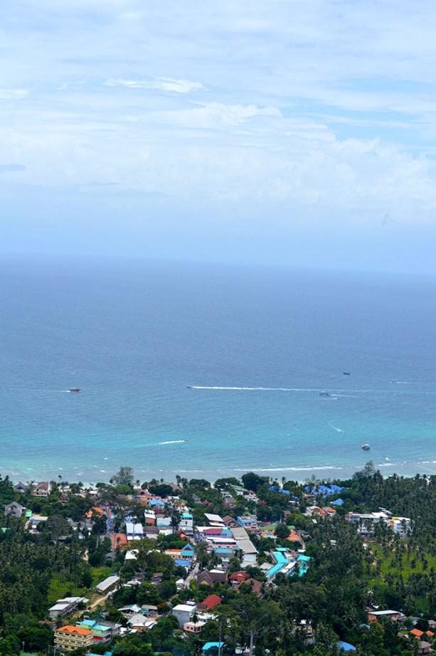 Views of Sairee Beach Koh Tao