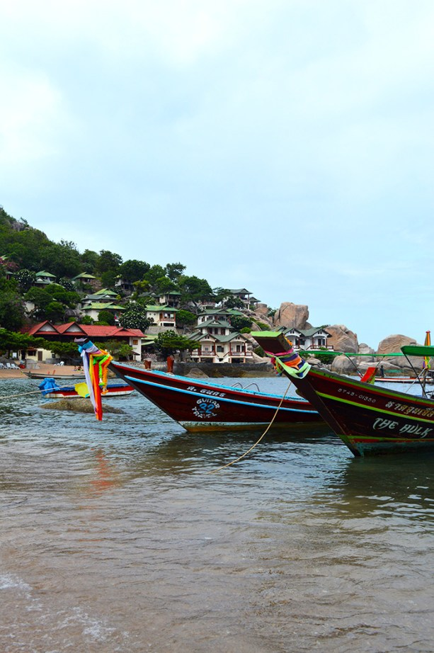 Taxi Boats in Koh Tao Thailand
