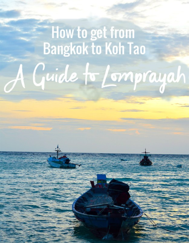 How to get from Bangkok to Koh Tao