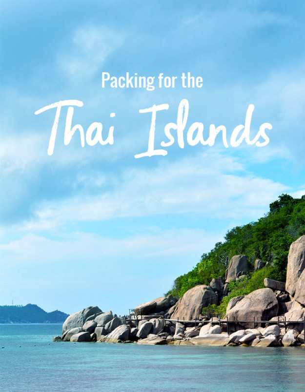 Packing for the Thai Islands