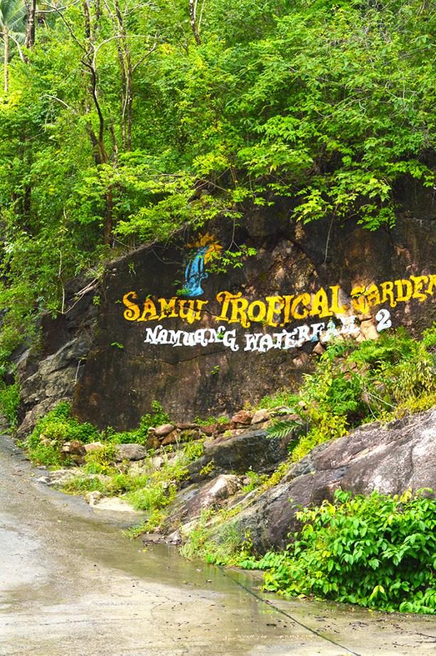 Na Muang Waterfall Koh Samui