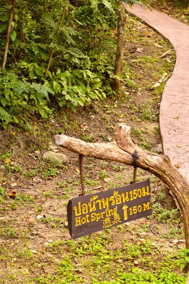 Tha Pai Hot Springs - Pai Thailand