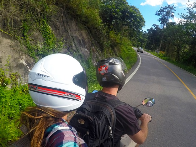 Scootering around Pai