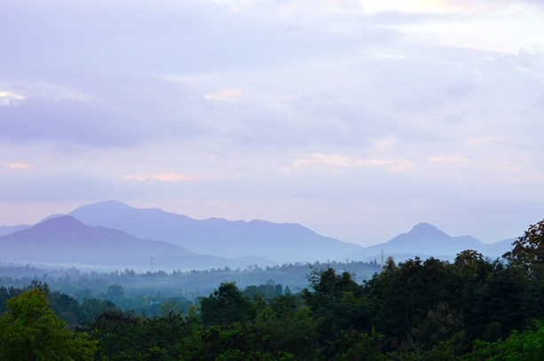 waiting for sunrise in Pai