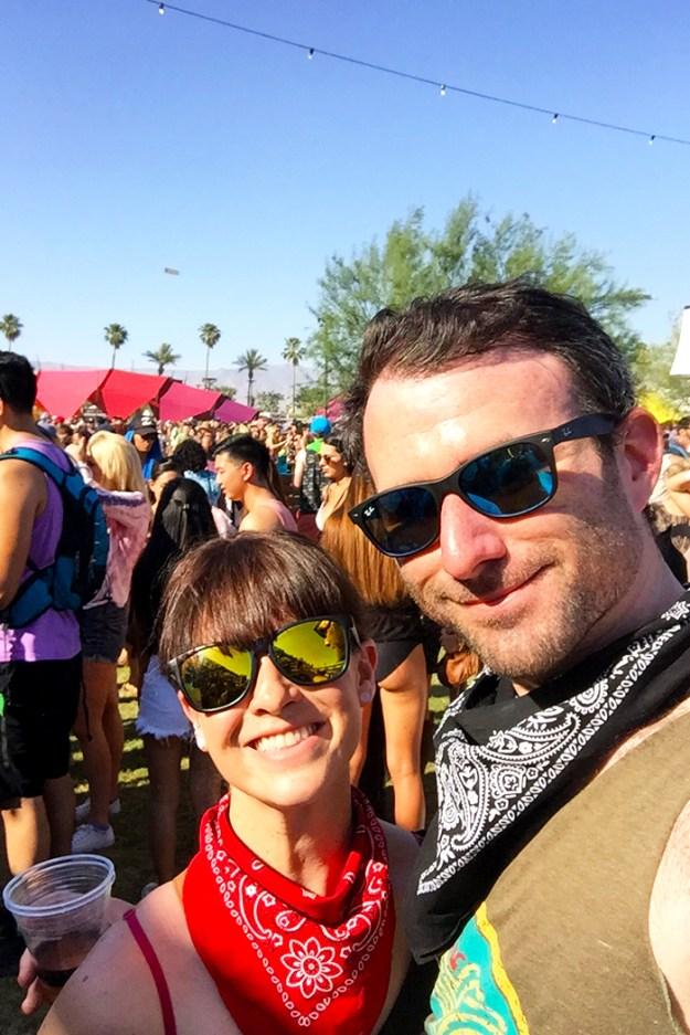 Coachella bandana style