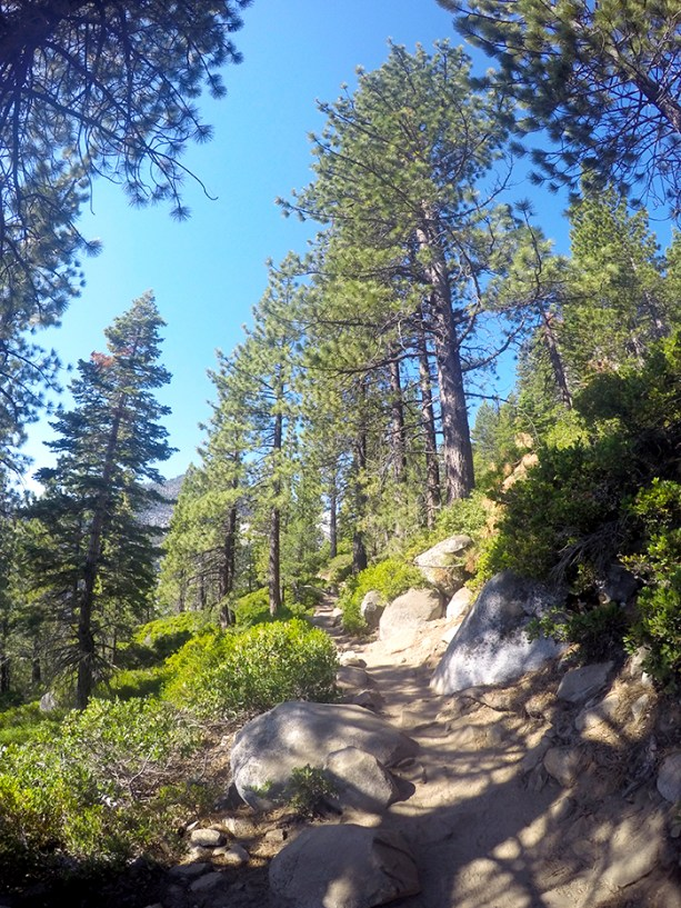 Take a hike in Lake Tahoe