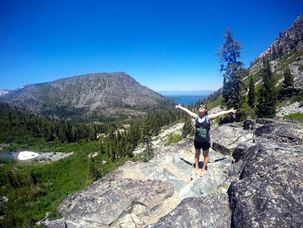 Tamarack Trail, Fallen Leaf Lake, Lake Tahoe
