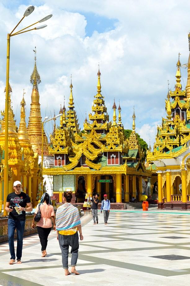 Shwedegon Pagoda Yangon Myanmar