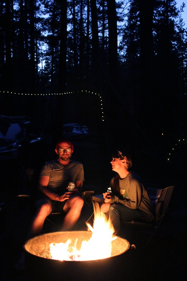 camp fire giggles