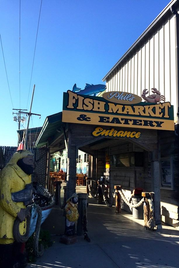 Phil's Fish Market & Eatery, Moss Landing