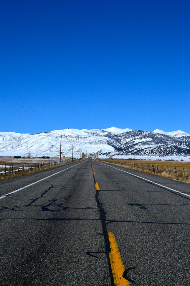 Driving down highway 395