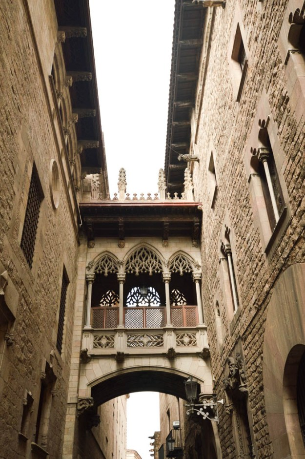 The Gothic Quarter, Barcelona