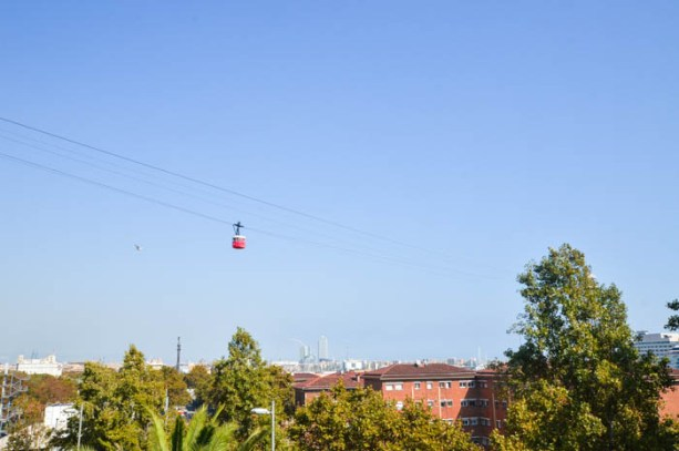 Montjuic Cable Car, Barcelona