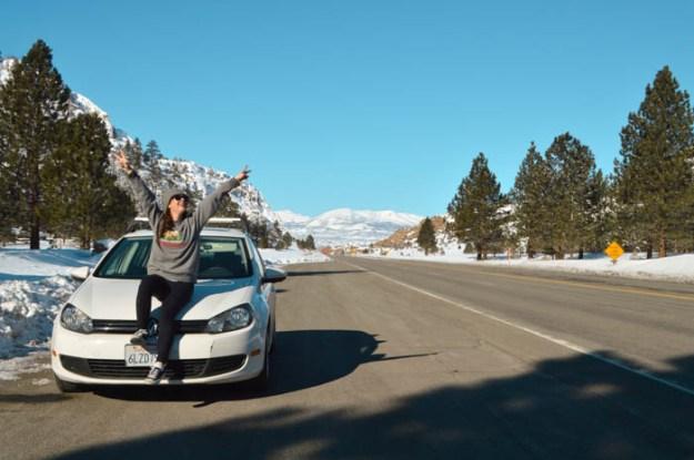 Road trip down highway 395