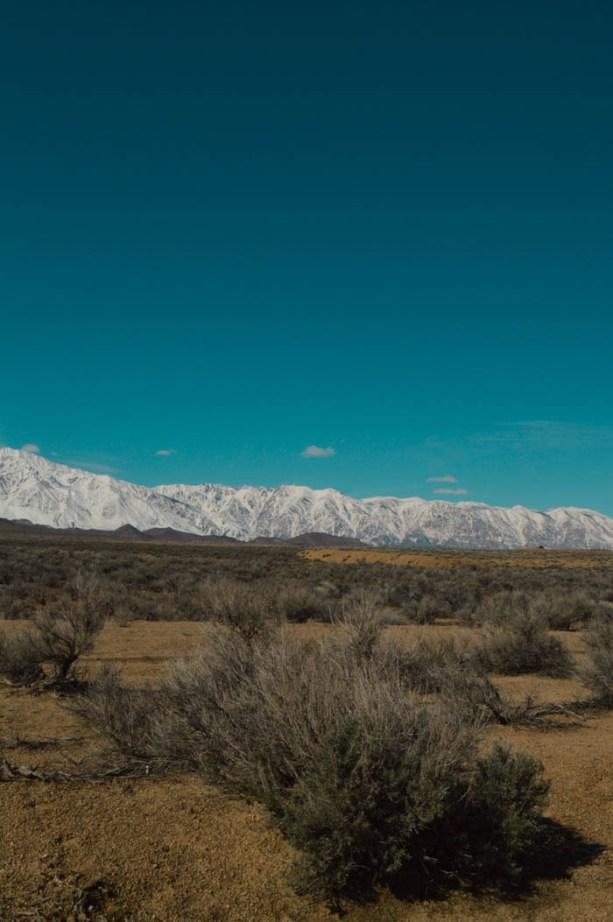 Eastern Sierras from Highway 395
