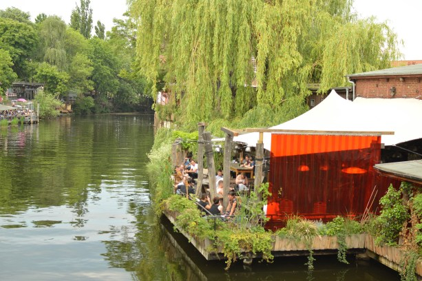 canal-side bars in Berlin