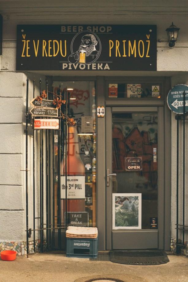 Pivoteka Beer Shop, Ljubljana