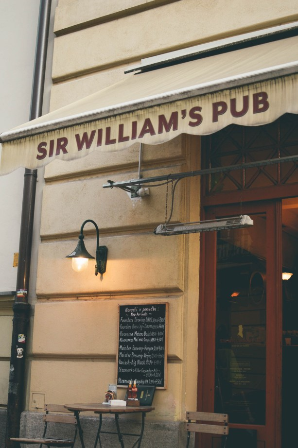 Sir William's Pub, Ljubljana