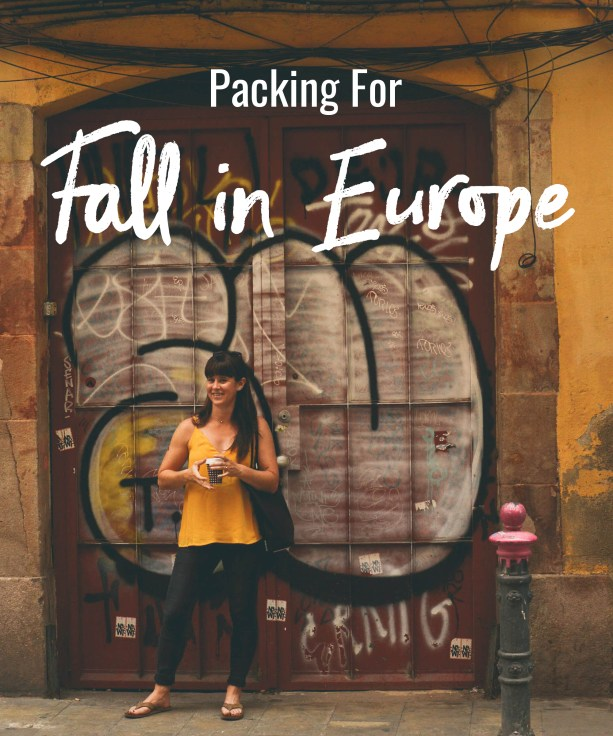 Packing for Fall in Europe