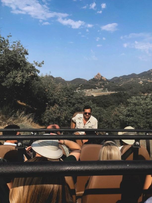 On the safari tour