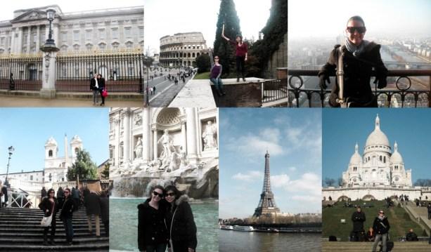 Backpack around Europe