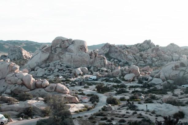 Hidden Valley Campground - Joshua Tree