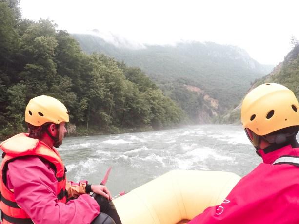 rapids on the Tara River