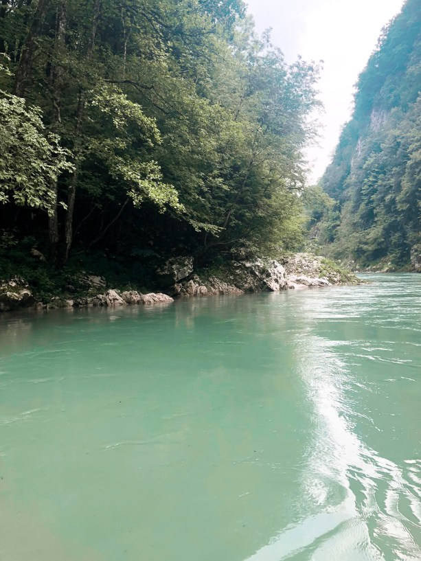 Turquoise water of the Tara River