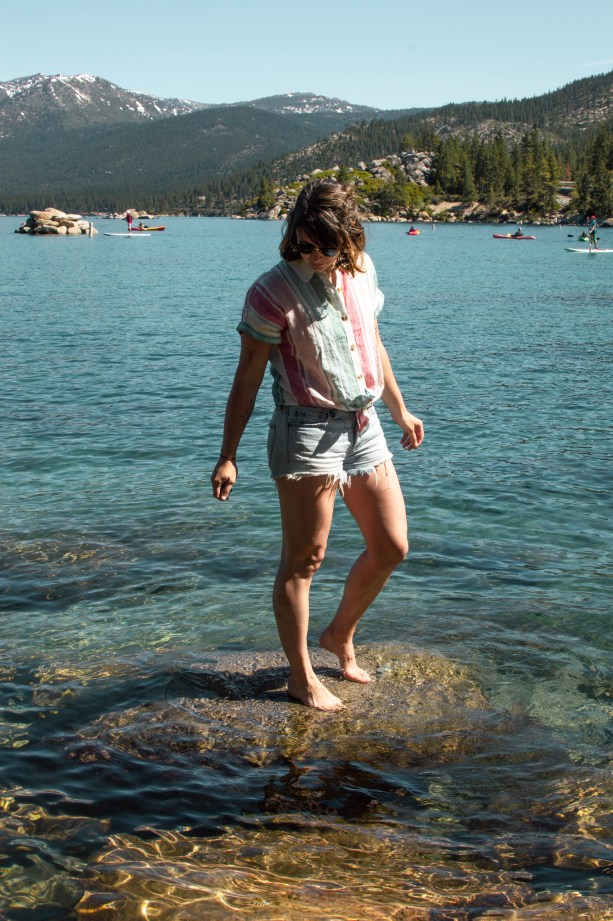 summer in Tahoe
