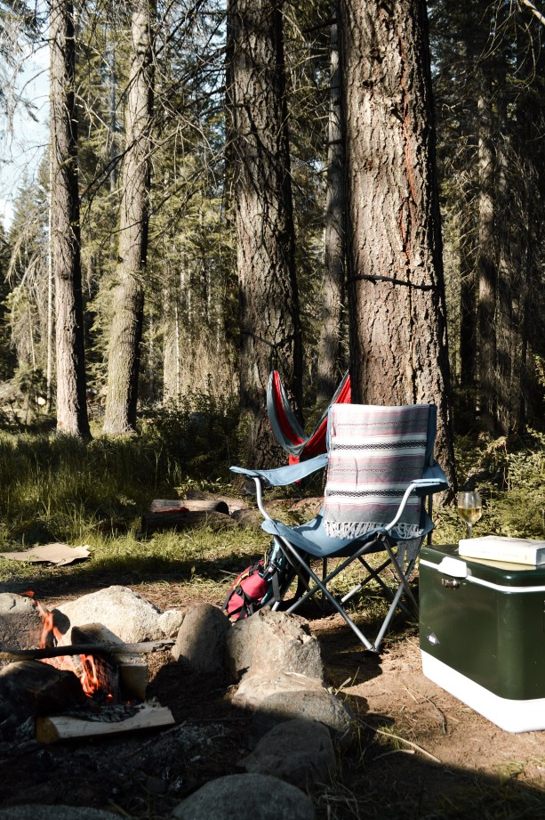 Camping in the National Forest