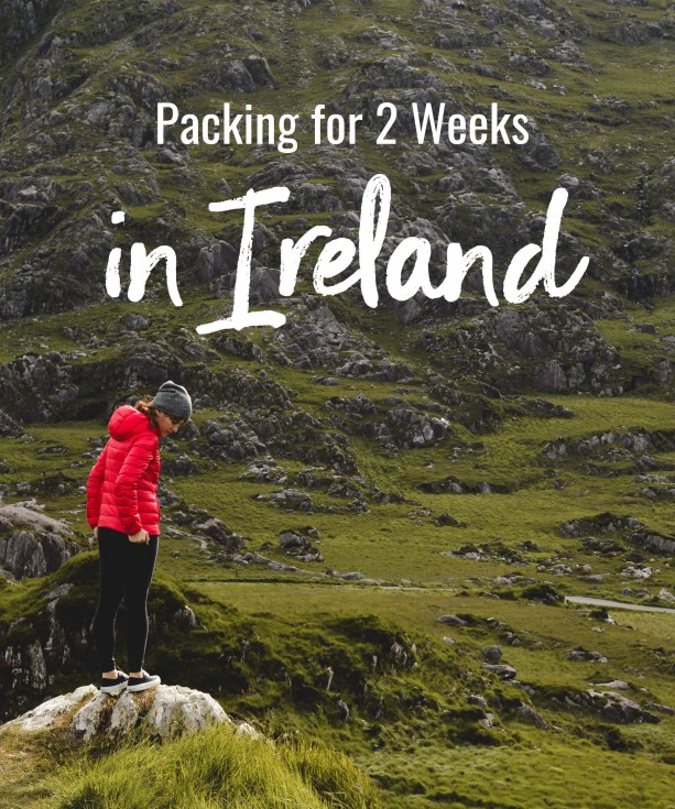 Packing for 2 weeks in Ireland