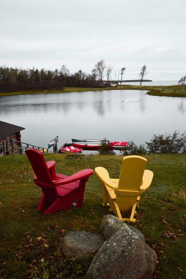 Relaxing in Nova Scotia