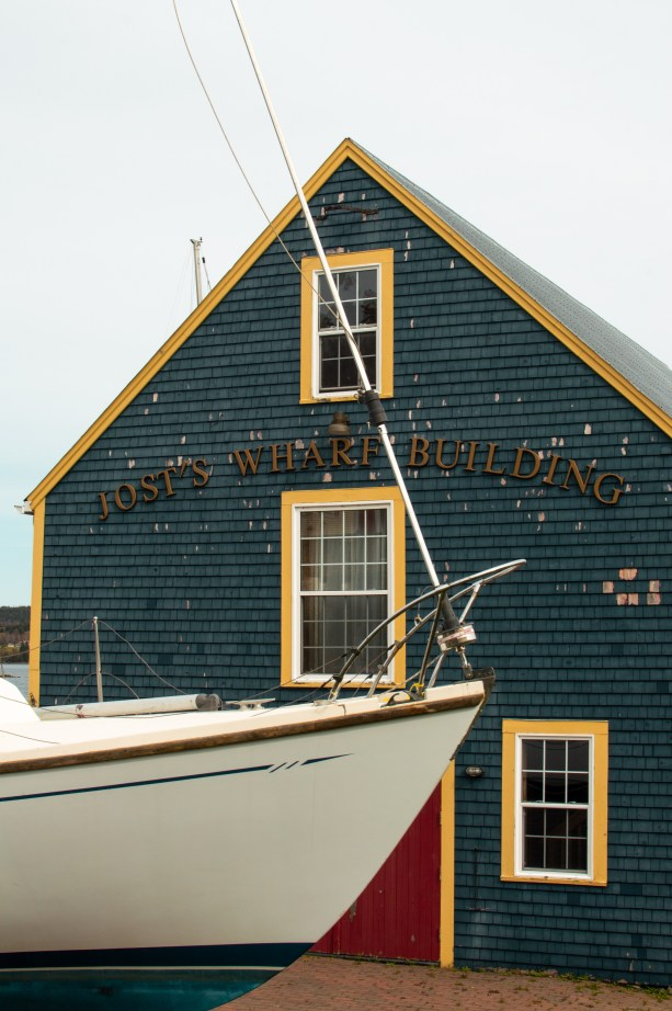 colorful maritime buildings